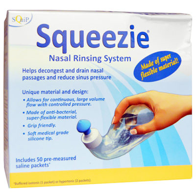 Squeezie Nasal Rinsing System